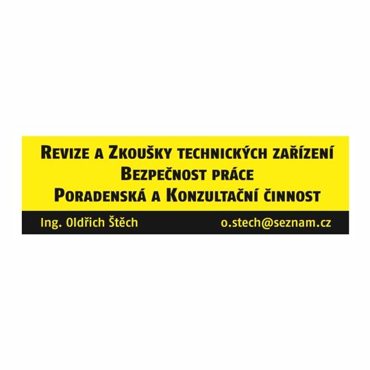Revize a zkoušky technických zařízení, bezpečnost práce Poradenství Ing. Oldřich Štěch, Příbram