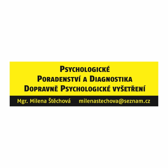 Psychologické poradenství a diagnostika Mgr. Milena Štěchová Příbram